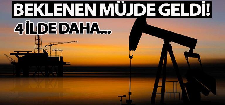 Ruhsatlandırma işlemi tamam: 4 ilde petrol aranacak!