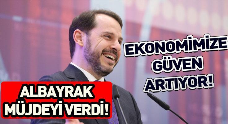 """Berat Albayrak: """"Ekonomimize güven artıyor"""""""