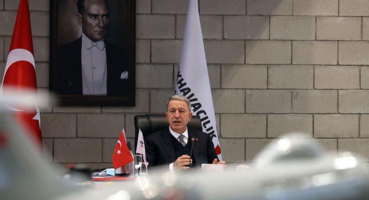 """Hulusi Akar: """"Mehmetçik hazır, Azerbaycan'ın haklarını koruyacağız"""""""