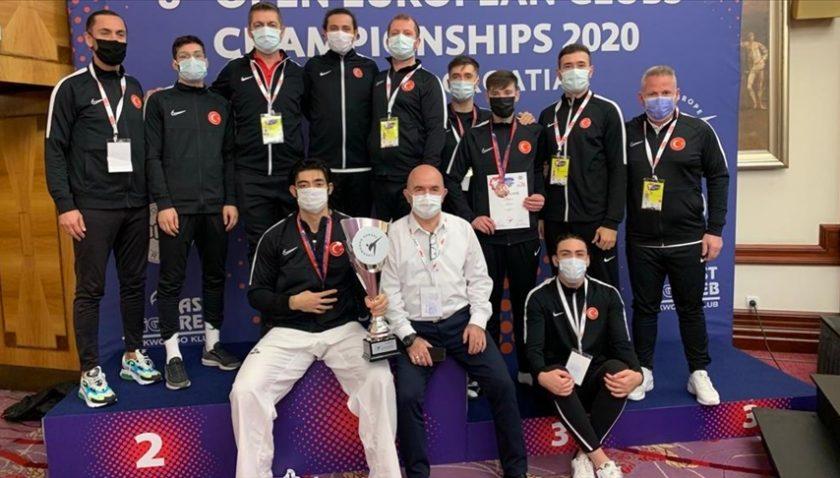 Tekvando Milli Takımı Avrupa şampiyonu!