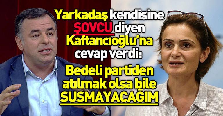 Yarkadaş'tan Kaftancıoğlu'na: Olayların üstünü örtmek görev suçudur!...