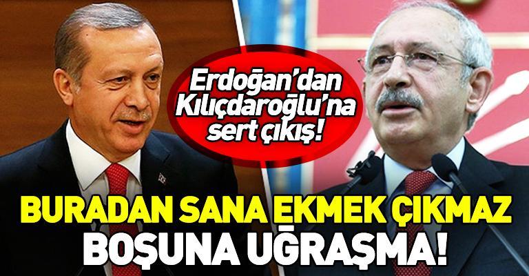 """""""Türk ordusu satılmış"""" sözünün arkasında duran Kılıçdaroğlu'na Erdoğan..."""