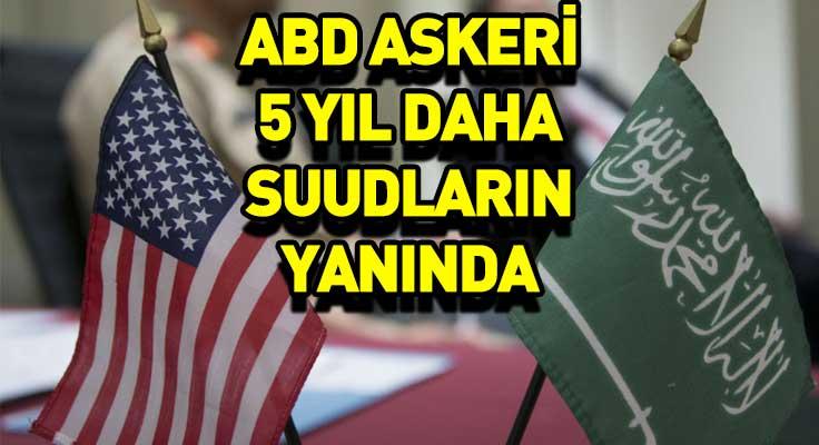 ABD'den Suudi Arabistan'a askeri eğitimine devam edecek!