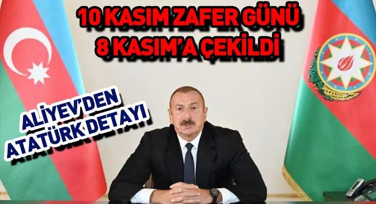 Azerbaycan'dan alkışlanacak hareket!  Atatürk'ü anma gününe denk gelen 10 Ka...