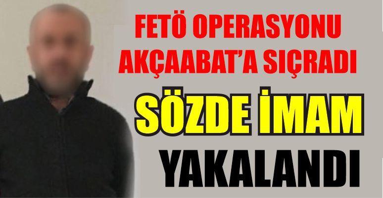 Trabzon'da FETÖ'nün sözde Vakfıkebir imamı yakalandı!