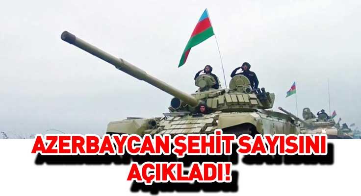 Azerbaycan şehit sayısını açıkladı! Karabağ operasyonlarında 2 bin 783 askerini kaybetti...