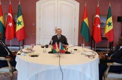 Erdoğan, Gine ve Sengal Cumhurbaşkanları ile bir araya geldi!