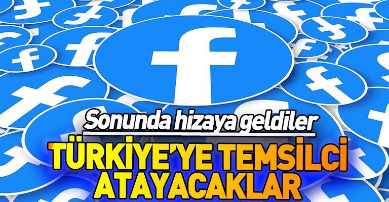 Facebook inadı bıraktı! Türkiye'ye temsilci atayacaklar