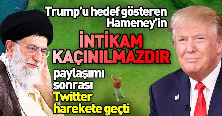 Hameney, Trump'ı hedef gösterdi: İntikam kaçınılmazdır!