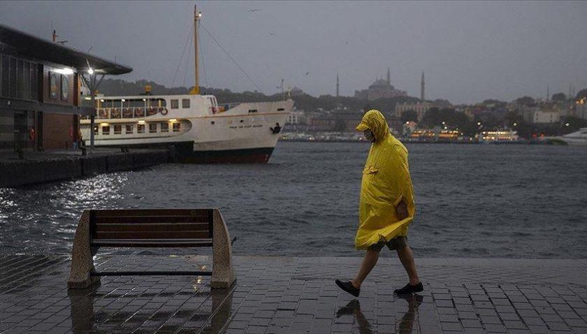Meteoroloji duyurdu! İstanbul'da sağanak devam edecek...