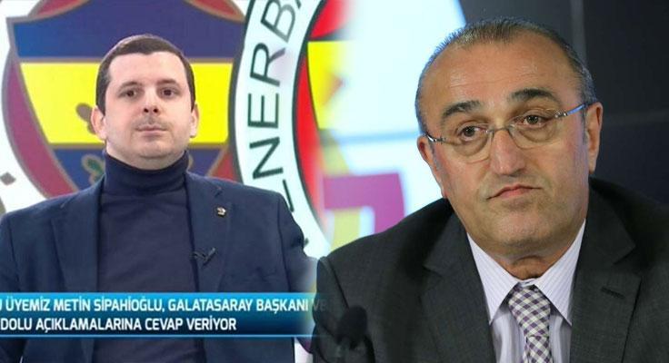 """Metin Sipahioğlu: """"Elimde fotoğraf var demek şantaj içeriyor"""""""