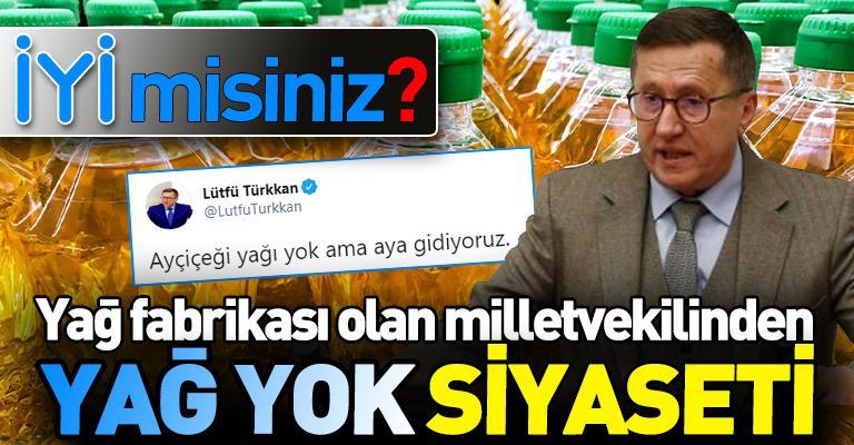 """İYİ Parti'den """"yağlı"""" siyaset!"""