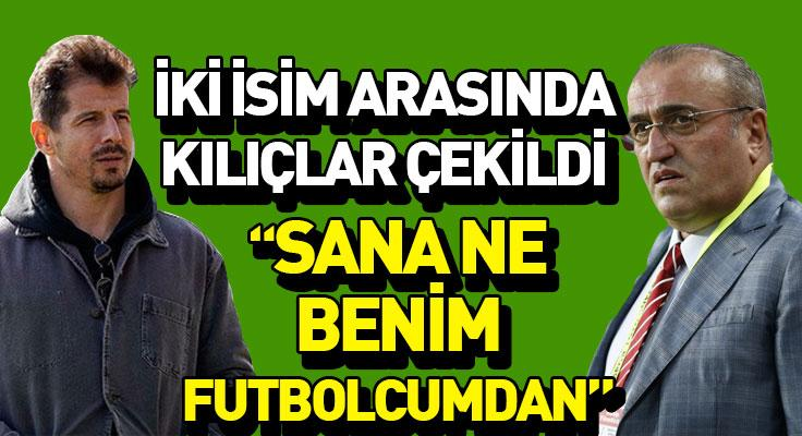 """Emre Belözoğlu: """"Sana ne benim futbolcumdan"""""""