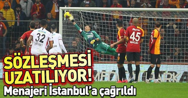 Galatasaray Muslera ile yeni sözleşme için görüşmelere başladı