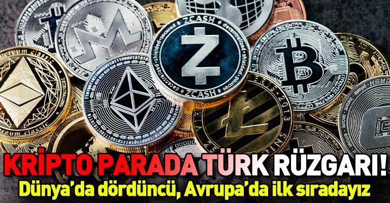 Türkiye kripto para kullanımında Avrupa'nın zirvesinde