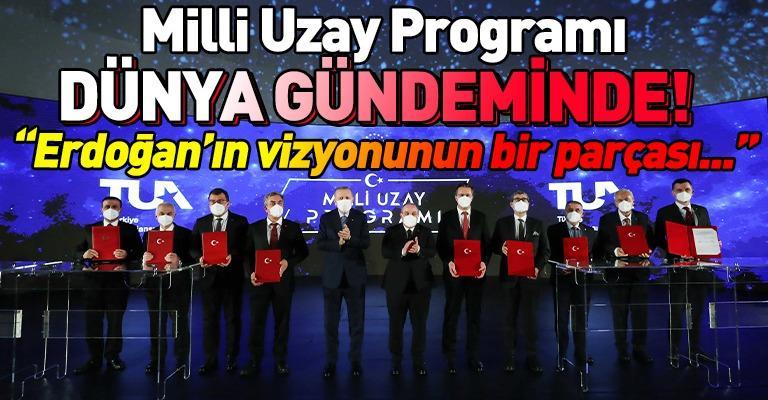 """""""Milli Uzay Programı"""" ABD'de ses getirdi! Gözler Türkiye'nin üzerinde..."""