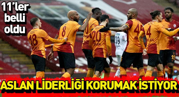 Cimbom liderliği korumak istiyor! Erzurumspor maçının 11'leri