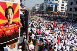 Myanmar halkı pes etmiyor! Darbe karşıtı protestolar ve genel grev devam ediyor