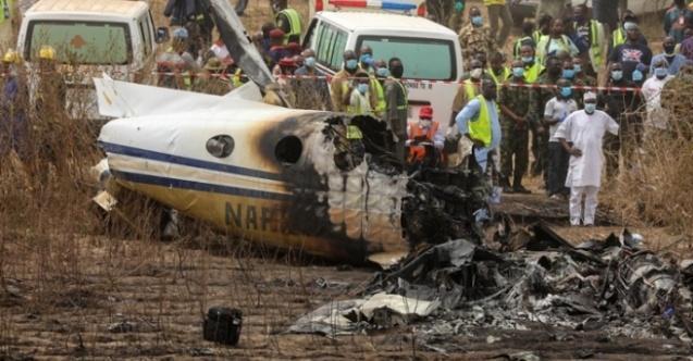Nijerya'da uçak düştü! 6 asker hayatını kaybetti!