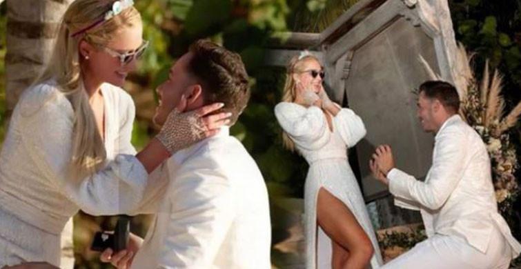 Paris Hilton doğum gününde nişanlandı!