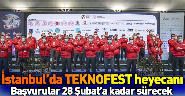TEKNOFEST 2021 Atatürk Havalimanı'nda tanıtıldı