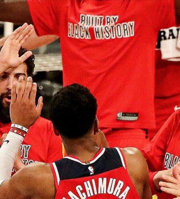 NBA'de Wizards galibiyet serisini 5'e çıkardı