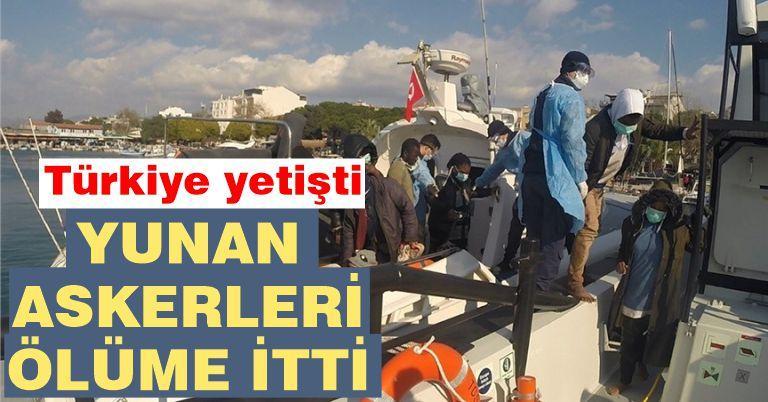 Yunanistan yine şaşırtmadı! İzmir'de 53 kaçak göçmen kurtarıldı