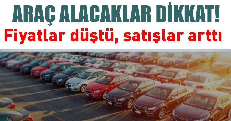 İkinci el online otomobil ilanlarında fiyatlar düştü, satışlar arttı!
