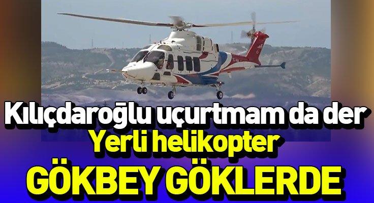 Gökbey helikopterinin test uçuşları sürüyor