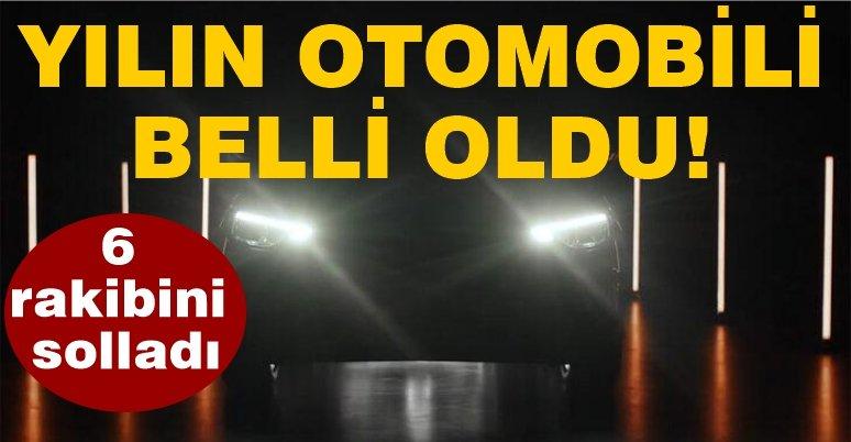 Türkiye'de Yılın Otomobili belli oldu!