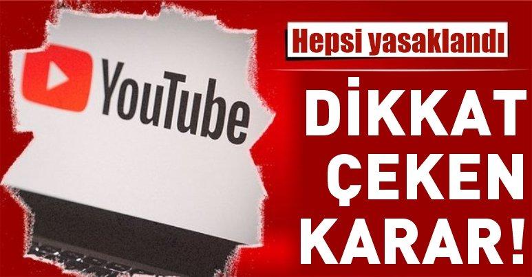 YouTube'da yeni dönem! Ana sayfada siyasi içerikli reklam yayını yasaklandı