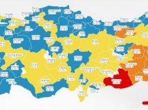 Aşılanmalar artıyor, Türkiye mavi haritaya doğru yol alıyor