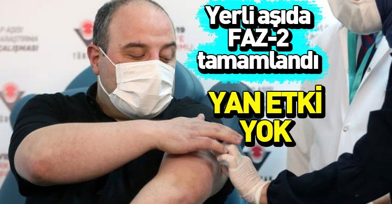 "Mustafa Varank: ""VLP aşısında Faz-2 çalışmaları tamamlandı"""
