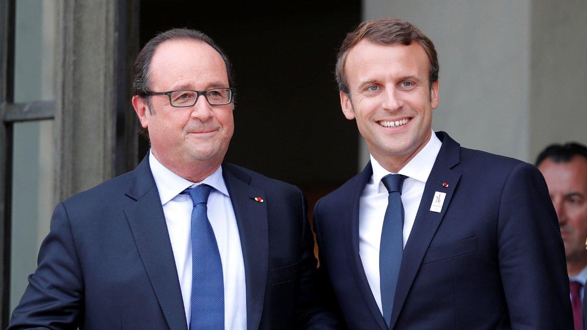 Hollande'den Macron tepkisi: Ona her şeyimi verdim bana ihanet etti