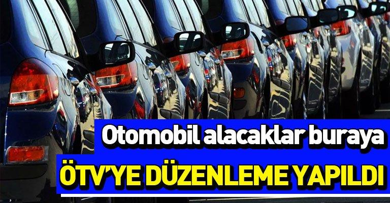 Otomobil alacaklara müjde! Yeni ÖTV matrah kararı…