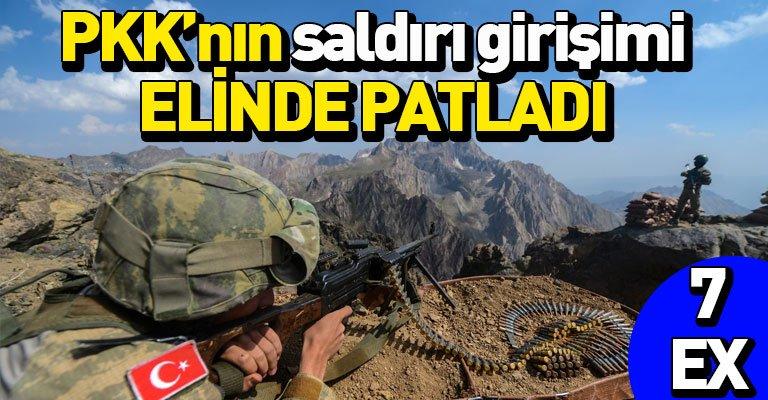 Barış Pınarı bölgesine saldırı girişimi ters tepti! 7 terörist öldürüldü