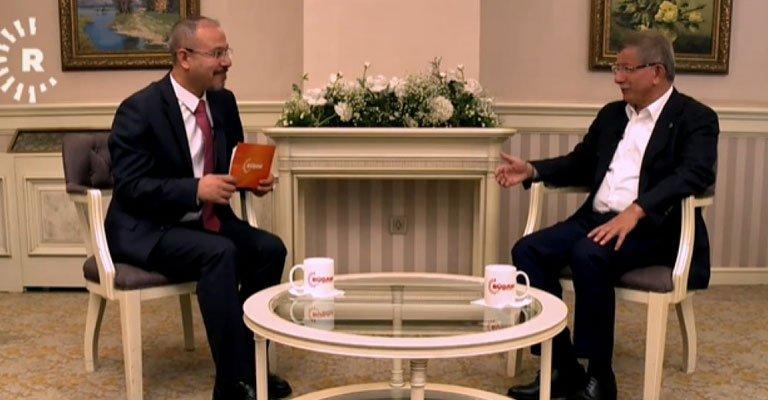 """Davutoğlu: """"Suriye'de Kürtler için federasyon kararı alınırsa saygı gösterilmeli"""""""