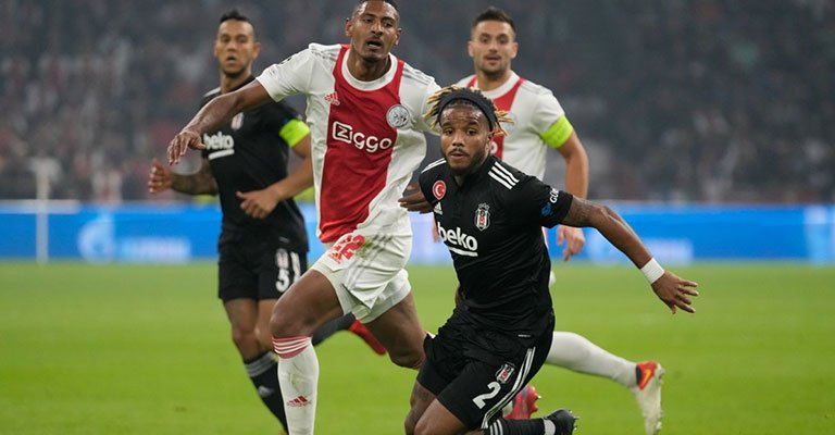 Beşiktaş, Devler Ligi'nde Ajax'a 2-0 kaybetti!