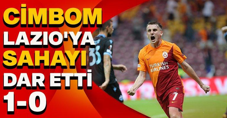 Galatasaray'dan güzel başlangıç! Lazio'yu tek golle geçti