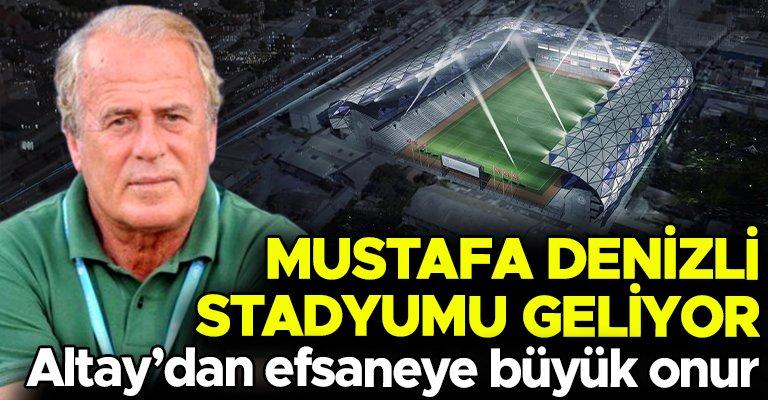 Altay'dan Mustafa Denizli'ye büyük onur! Yeni stada onun adını verecekler......