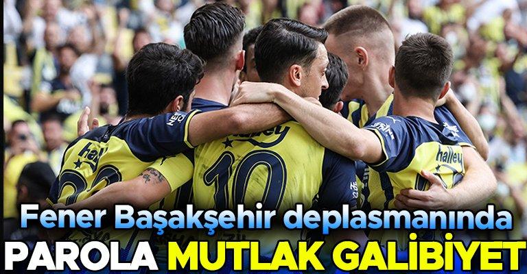 Fenerbahçe Başakşehir karşısında 3 puan için sahada! Muhtemel 11'ler...
