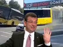 İBB'de skandallar bitmiyor! Otobüs değil buharlı tren gibi...