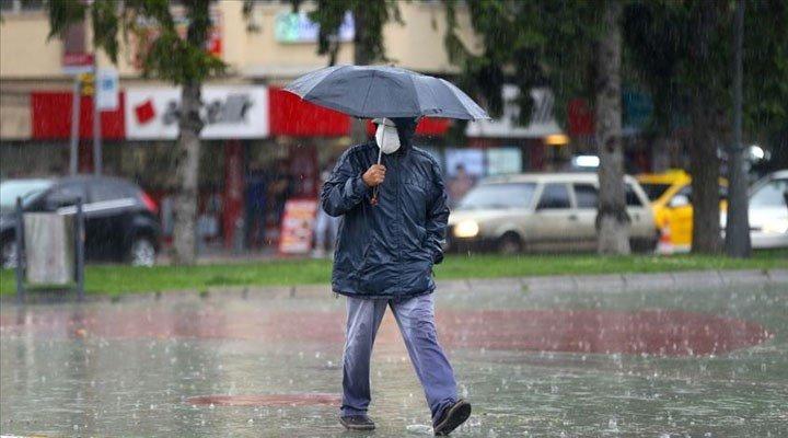 Türkiye sağanak yağışın etkisine giriyor