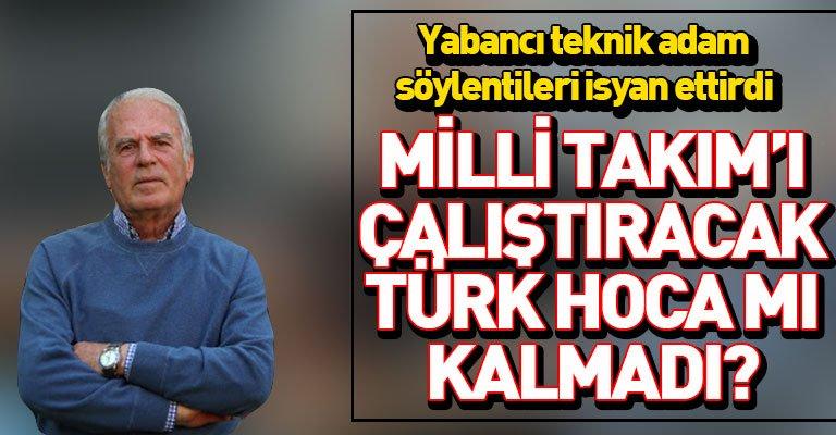 Mustafa Denizli, TFF'nin hoca seçimini topa tuttu!