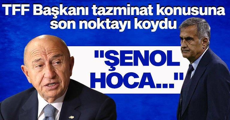 Nihat Özdemir Şenol Güneş'in tazminatı hakkında konuştu