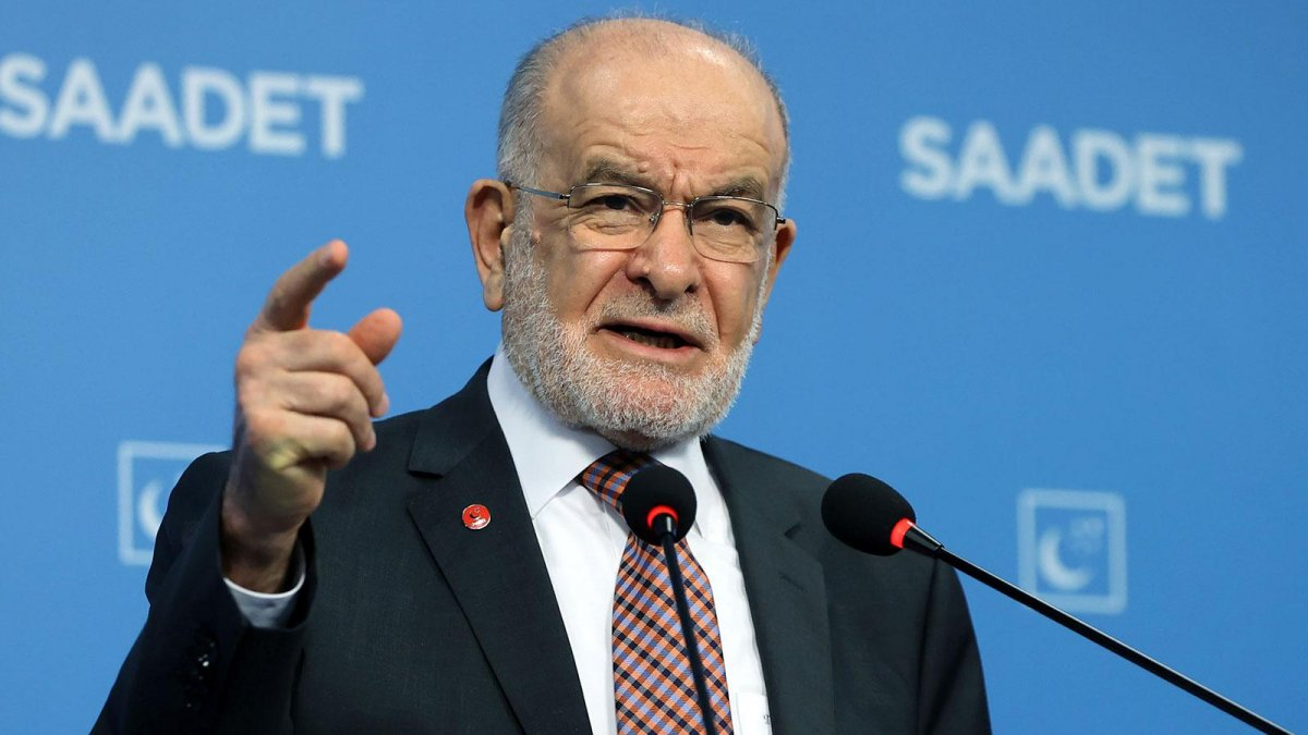 Saadet Partisi lideri Karamollaoğlu'ndan ittifak açıklaması