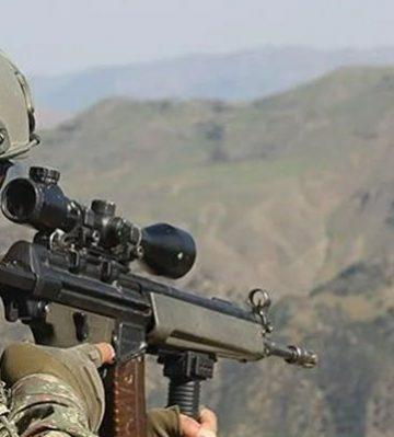 PKK'lı 3 terörist inlerinde öldürüldü!