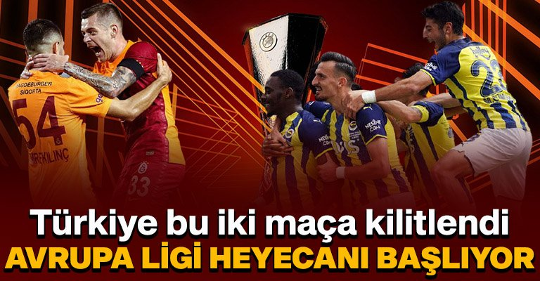 Gözler temsilcilerimizin Avrupa maçlarında! Galatasaray-Lazio ve Frankfurt-Fenerbahçe ma...