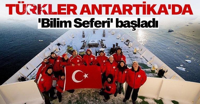 Türk bilim insanları Antartika'da biyoçeşitlilik çalışmaları yapılacak