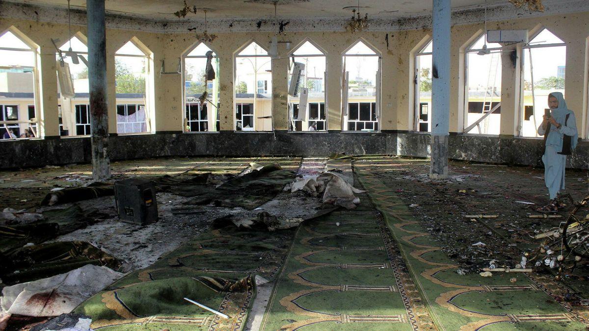 Afganistan'daki cami saldırısını DEAŞ üstlendi